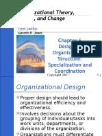 Part 6 - Designing Structure (Specialization & Coordination)