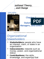 Part 2 - Stakeholders, Managers, And Ethics