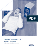 Ford 6000cd Users Manual