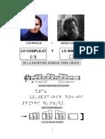 Braille y Aschero _ Lo Complejo y Lo Simple de La Escritura Musical Para Ciegos