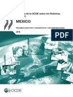 OECD Reviews of Health Systems Mexico 2016 Assessment and Recommendations Spanish