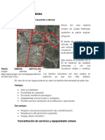 Estructura Urbana de berriozabal chiapas