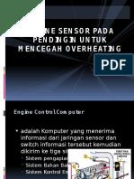 Engine Sensor Pada Pendingin Untuk Mencegah Overheating