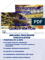 8 - Welding Procedures Summary