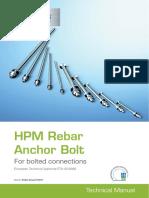 HPM Rebar Anchor Bolts Peikko Group 01-2015
