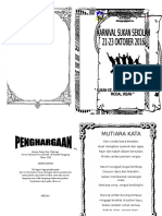 Buku PrOgrAm Sukan 2016 UPDATED