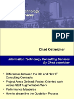 IT Consulting 10 important Point | chad Ostreicher