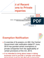 PPT on Exemptions to Pvt Cos (2)