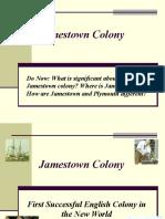 Jamestown Colony PPT