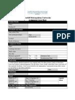 Software Development Project (BCO6010) Handbook