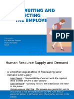 Recruiting and Selecting the Employee