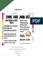Advertisement [Angelique] – Writers of Grade 9