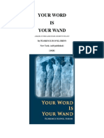 Florence Scovel Shinn Your Word is Your Wand