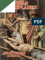 San Santiago Apostol, comic, historia juvenil, jovenes