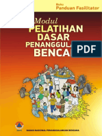 Buku Panduan Fasilitator - Modul Pelatihan Dasar Penanggulangan Bencana