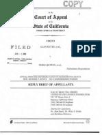 Keyes v Bowen Appellant's Reply Brief