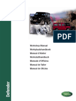 Defender TD5 Workshop Manual