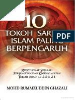 [Www.pustaka78.Com] PG78 10 Tokoh Sarjana Islam Paling Berpengaruh Oleh Mohd. Rumaizuddin Ghazali