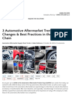 3 Automotive Aftermarket Trends in the Supply Chain
