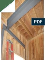 Steel Beam Supporting Timber Floor