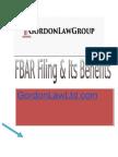 FBAR Filing & Its Benefits
