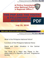 The PNP and the Youth Dialogue Presentation