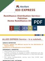 Allied Express Service Business Presentation June 2014 Revised