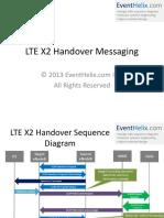 LTE X2 Handover Messaging