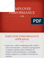 Employee Performance Ppt
