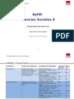 Programacion Social Science 6 Castellano.doc