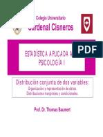 Estadística Psicologia - Tema 6