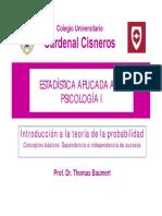 Estadística Psicologia - Tema 8