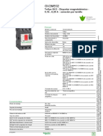 Guardamotor GV2ME02