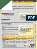 Apostila Certificate de Competente Perofesionale