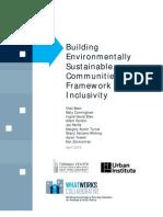 EPA Environmentally Sustainable Communities