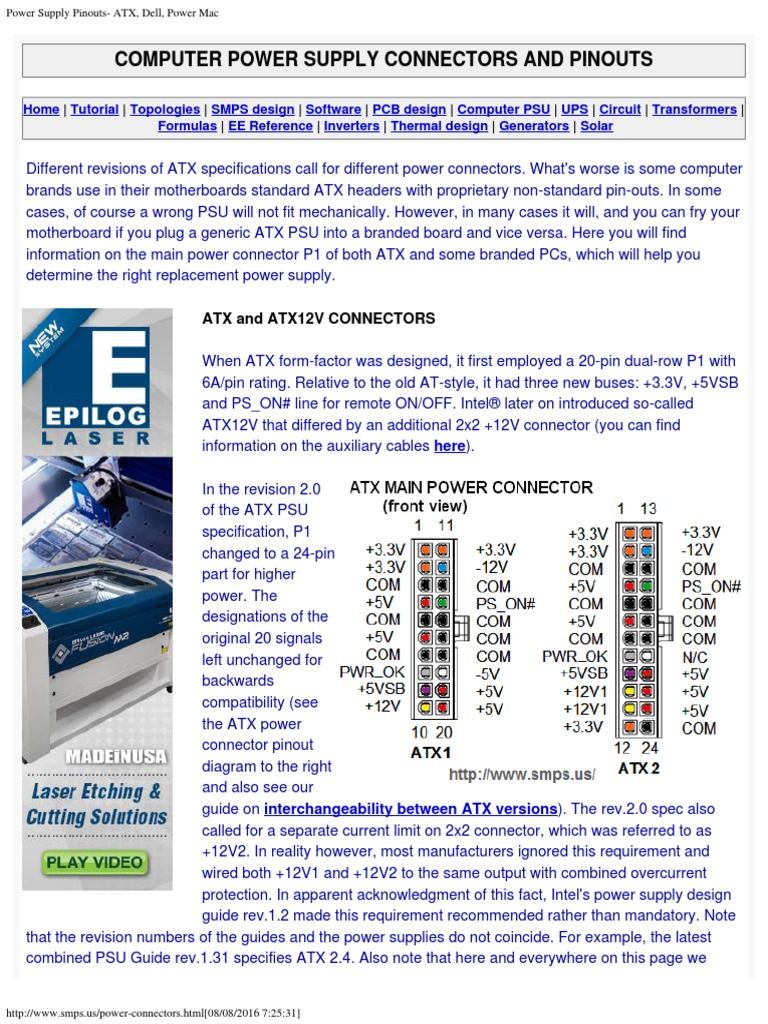 Best Smps Wire Voltage Contemporary - Electrical and Wiring Diagram ...