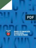 Manual de Comunicação e Escrita Oficial PR 2014