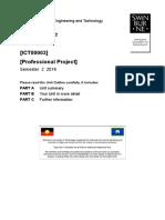 ICT80003_Unit Outline (FSET) - Sem 2 2016[1]