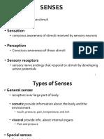 9. Senses