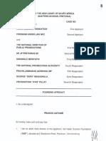 Founding Affidavit (Part 1) 23102016