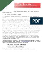 The Tsupitero Newsletter 06-23-2016