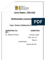 TermPaper Multimedia(Roll.no 07,Reg.no 1070070001)