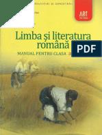 Manual Ed Art Limba Si Literatura Romana Cls a XI a PDF
