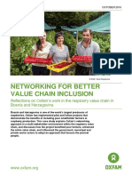 Networking for Better Value Chain Inclusion