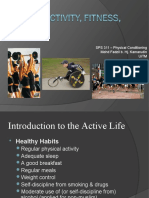 Chpt 1 Intro - Physical Activity, Fitness, & Health