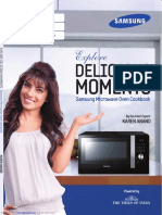 Samsung Microwave Oven user manual