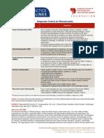 Adult Sinusitis Physicianresource Diagnostic Criteria Rhinosinusitis