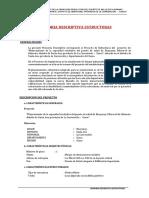 Posta de Salud Huayanay Estructuras