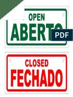 Aberto-fechado