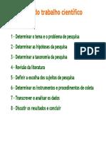 Metodologia I